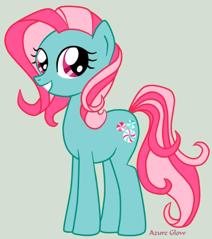 One of the old my little pony