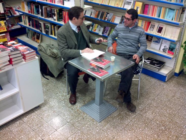 Col Pandiani, sotto. Interrogatorio @Instarlibri
