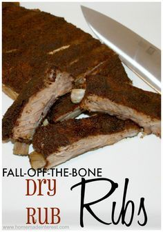 Fall Off the Bone Dry Rub Ribs Recipe                                                                                                                                                                                 More