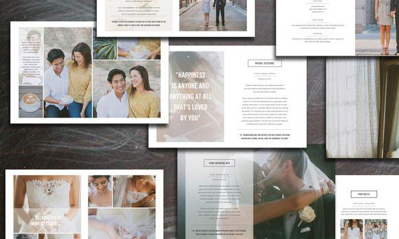 Wedding Photography Brochure on @creativework247