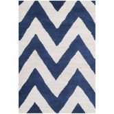 Found it at Wayfair - Cambridge Navy & Ivory Area Rug
