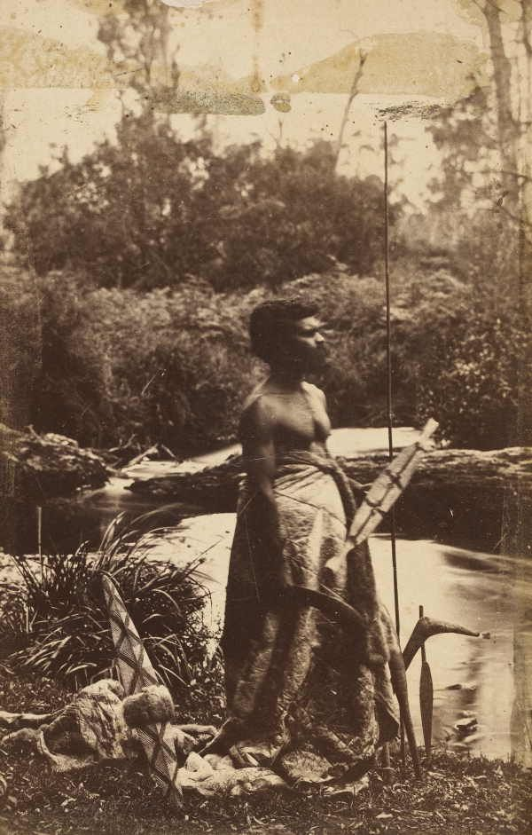 Aborigine - First Australian -Coranderrk, 1886 Fred Kruger. Date(s) of creation: ca. 1886
