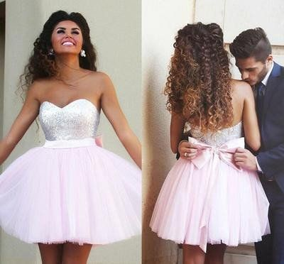Short prom Dress,Charming Prom Dresses,Pink prom Dress,homecoming dress,Party…