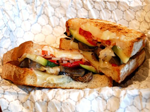 Grilled Vegetable Panini | Staying Healthy: Lunch | Pinterest