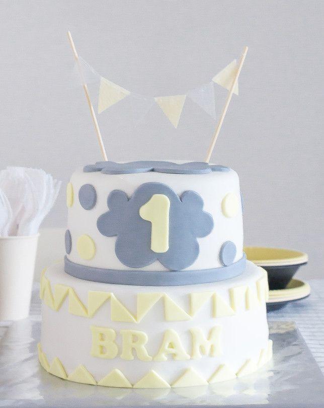 &SUUS| Kinderverjaardag Bram 1 Jaar | www.ensuus.nl | Cake Taart Birthday…