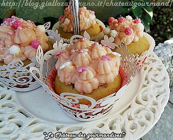 Cupcakes alla fragola - Strawberry cupcakes