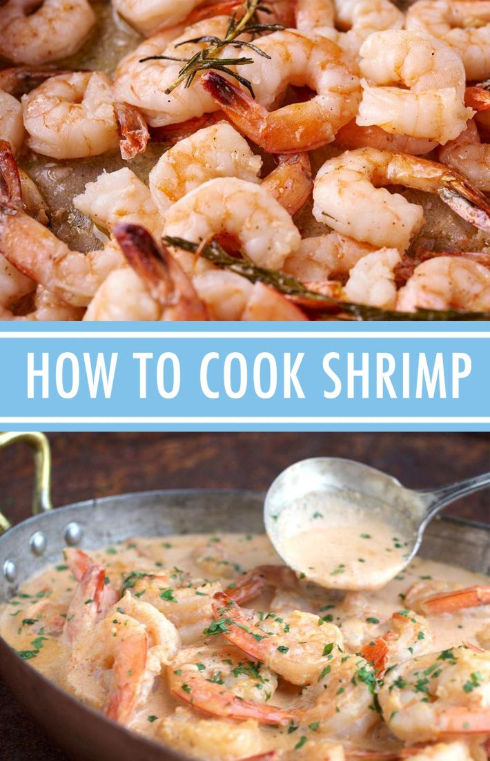 Did you know there's more than one method for how to cook shrimp? Discover four ways to cook shrimp, plus tips on buying and storing it.