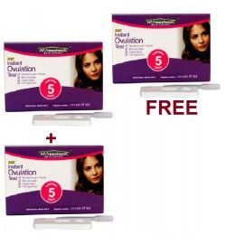 Buy 2 Get 1 Free Homecheck New Instant Ovulation Test Cards, Read here: http://www.home-check.net.in/ovulation-kits/buy-2-get-1-free-homecheck-new-instant-ovulation-test-cards