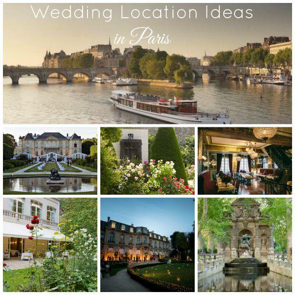Wedding Locations in Paris