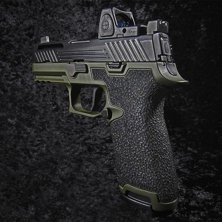 SIG Sauer P320 complete with Apex Flatty Trigger by Revolution Concepts.  Loading that magazine is a pain! Get your Magazine speedloader today! http://www.amazon.com/shops/raeind
