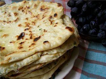 Рецепт лепешки Хычин