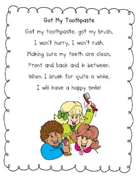 -POEM RELATED TO ORAL HEALTH-------------------------------------- dental health shared reading