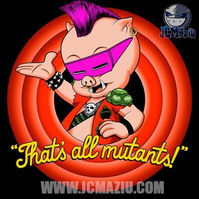 JCMaziu absent art.: That's all mutants!
