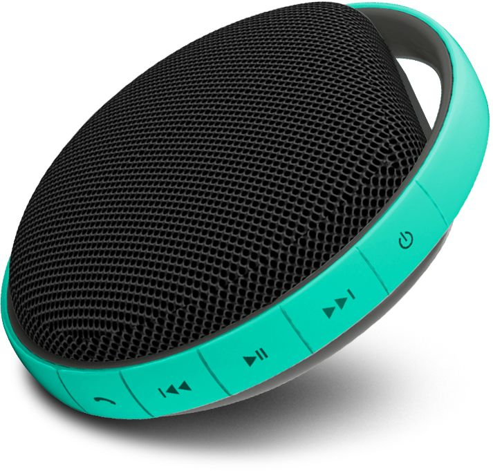 MiiKey Wireless MiiShower water proof Bluetooth Speaker with Microphone & built in Music player