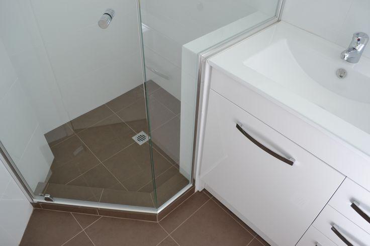 One Brick Nib Wall ( Wall Tiles)   Bathroom Renovation Armadale  Perth Best Bathrooms  On the Ball Bathrooms