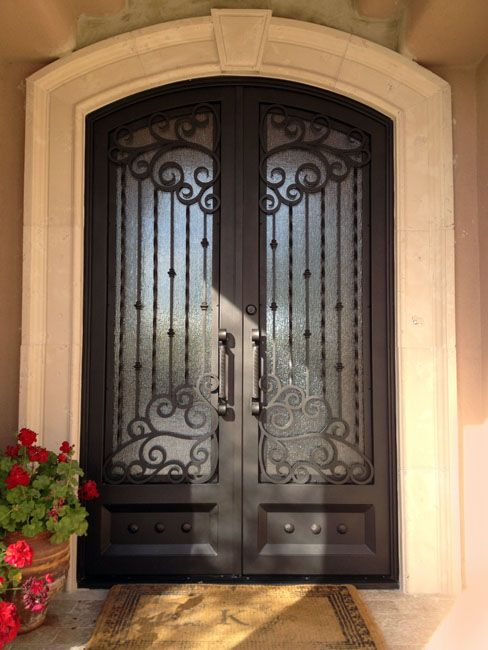 67 Best Images About Wrought Iron Doors On Pinterest