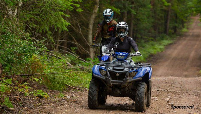 From the Octagon to ATVs + Video - ATV.com Fighters Miesha Tate and Bryan Caraway unwind on four wheels