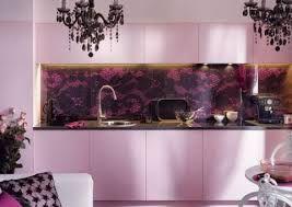 pink kitchen furniture