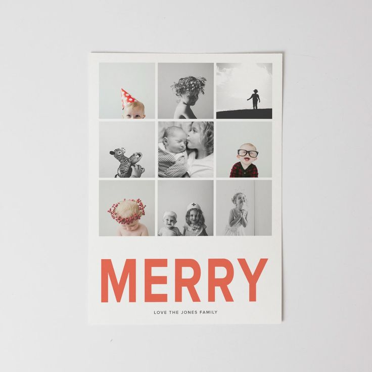 Personalized Christmas Cards Without Photos Merry Christmas And
