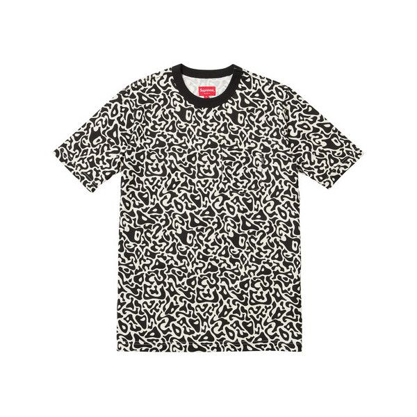 Supreme Pacific Camo Pocket Tee ($72) ❤ liked on Polyvore featuring tops, t-shirts, shirts, tees, camoflage shirt, camouflage tee-shirt, camo tee-shirt, tee-shirt and pocket t shirts