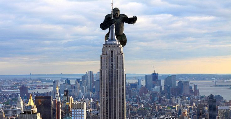 King Kong Empire State Building With Girl | www.pixshark ...