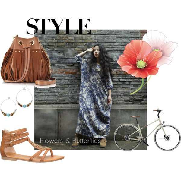 Boho style #1 by clubmonacoshop on Polyvore featuring maurices, Diane Von Furstenberg, Decree and Hermès
