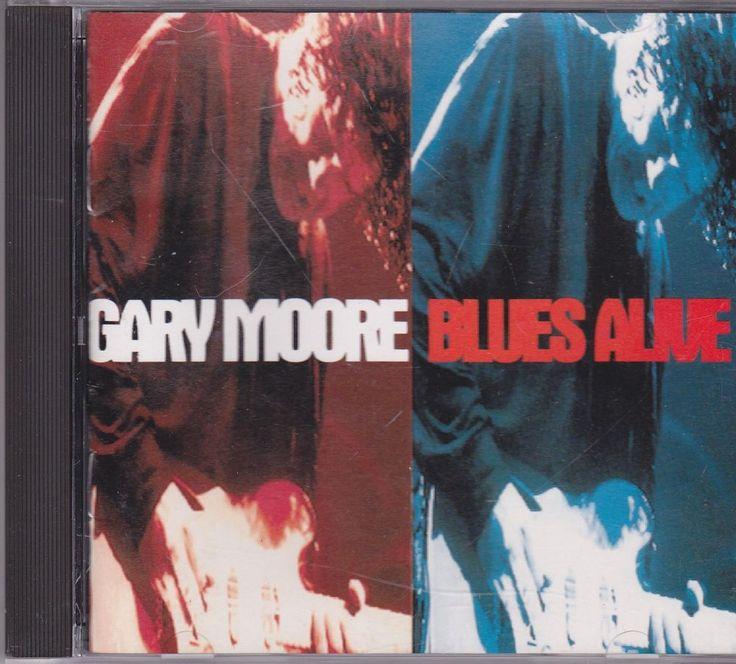Gary Moore / Blues Alive / 1993 Virgin Records / Near Mint Rock CD / Thin Lizzy #HardRock