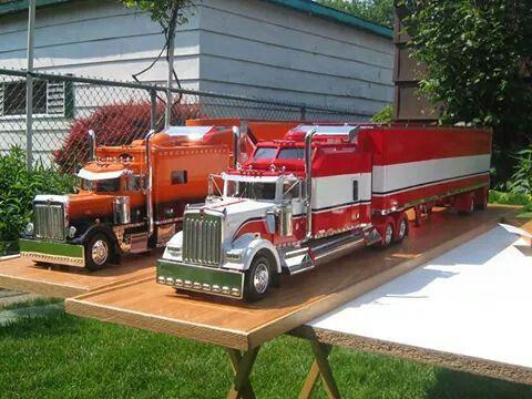 Semi Truck: Plastic Model Semi Truck Kits