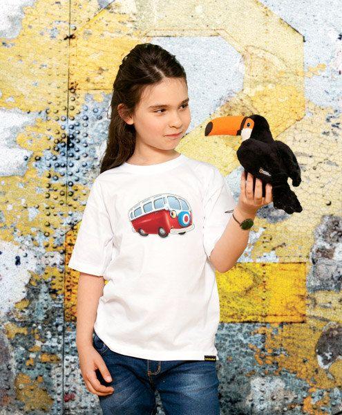 kids cute tshirt Funky Van kids tshirt Kids Gift Young by store365