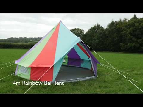 sports shoes a8c32 a7f31 Luxury Zipped in Canvas Bell Tents available in a range of ...