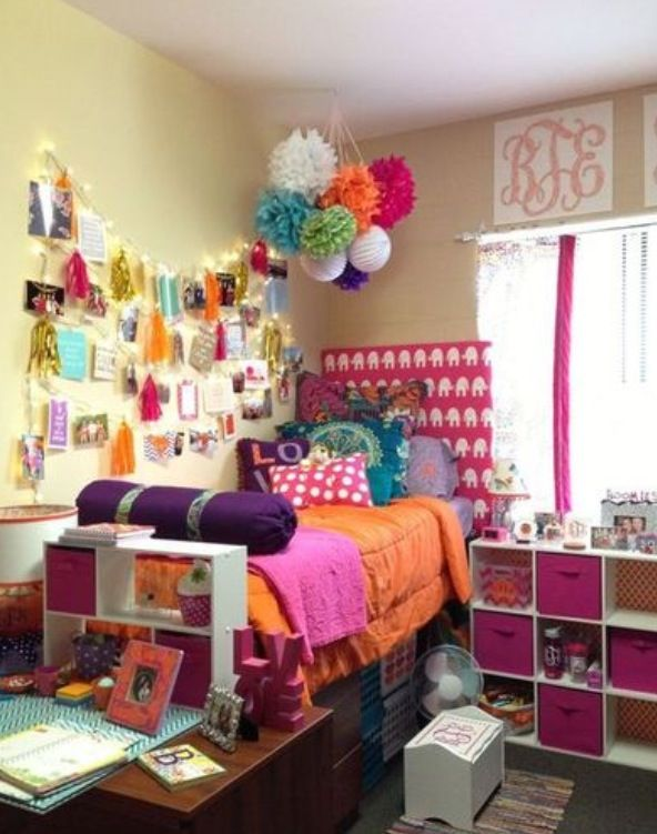 I Love The Color Scheme! Orange, Plum, And Hot Pink. Part 86