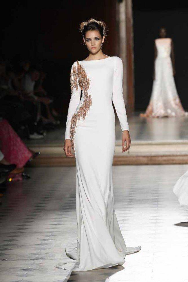 #vestidos de #novia de manga larga  #wedding #dress #ideas #fashion #winter