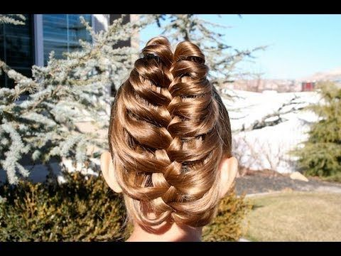 Cage Braid Ponytail {a 5-minute, 3D braid that is sure to bring compliments!}