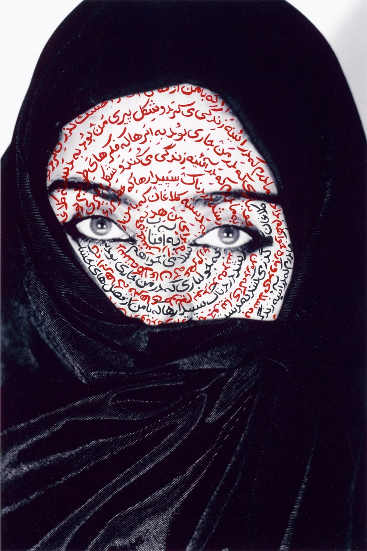 by Shirin Neshat,Museum of Fine Arts, Boston, December 2013