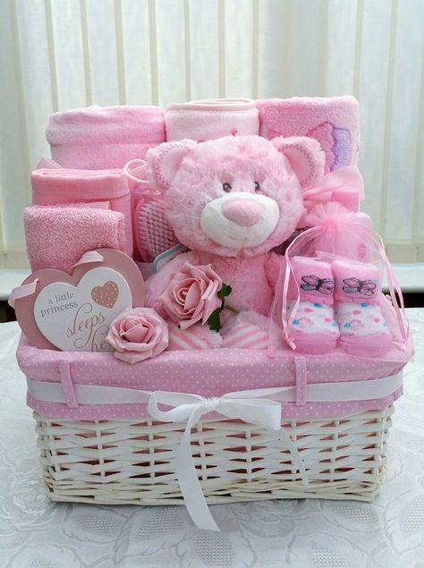 90 schöne DIY Baby Shower Baskets für die Präsentation von hausgemachten Geschenken in teuren Stil