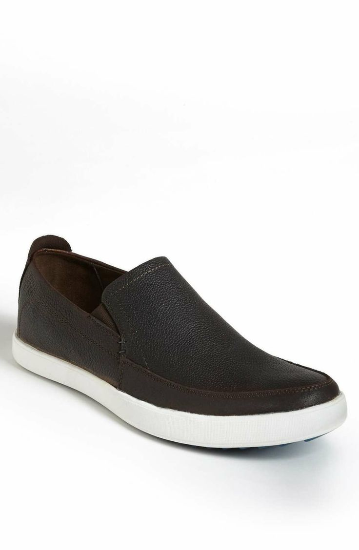 Hush Puppies® 'Roadside' Slip-On on Wantering | $80 | gifts for guys | mens shoes | mens slip-on loafers | menswear | mens fashion | mens style | wantering http://www.wantering.com/mens-clothing-item/hush-puppies-roadside-slip-on/ag7Zr/