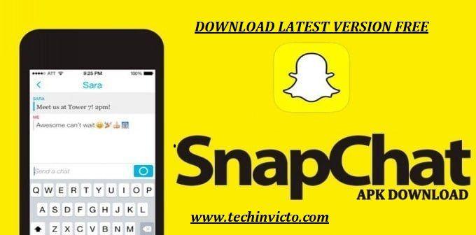 Snapchat Apk Latest Version 10 54 0 Download For Android 2019 Snapchat Snapchat Premium Social Media Network