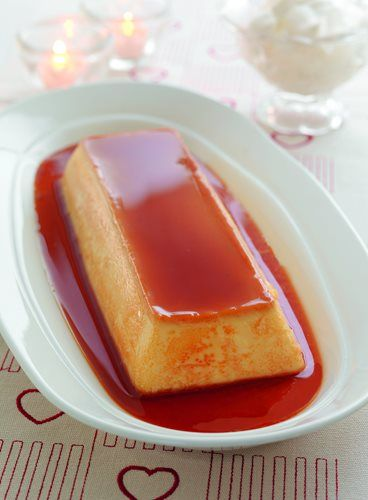 Karamellpudding. Flan? My husband makes this lovely dessert for christmas eve. Love it!