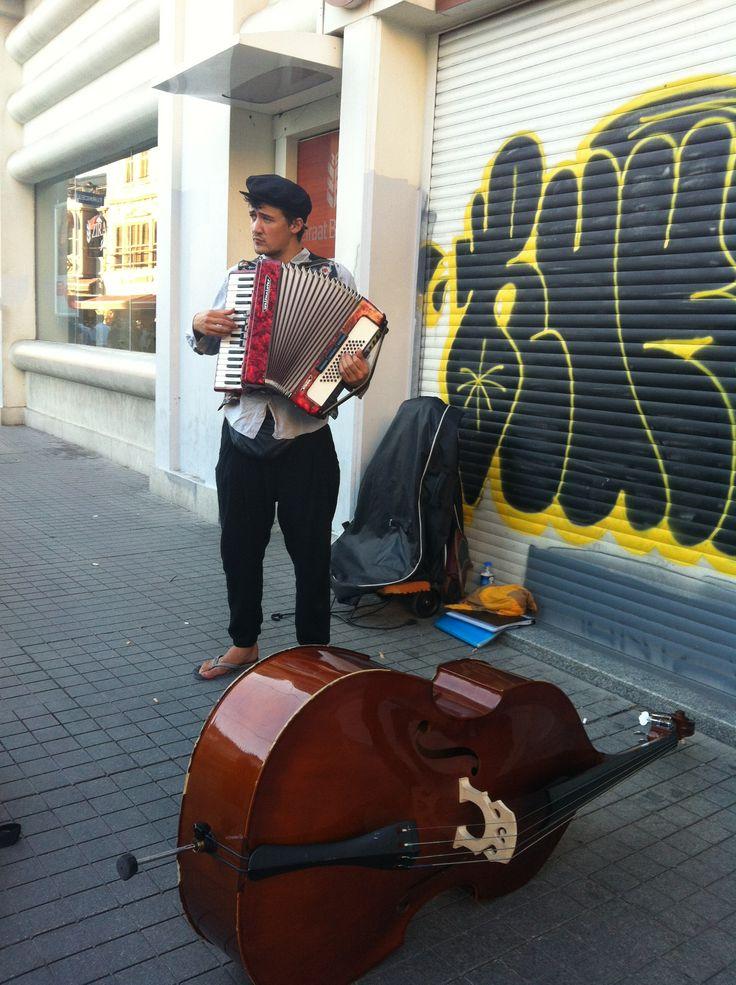 sokak sanatçısı