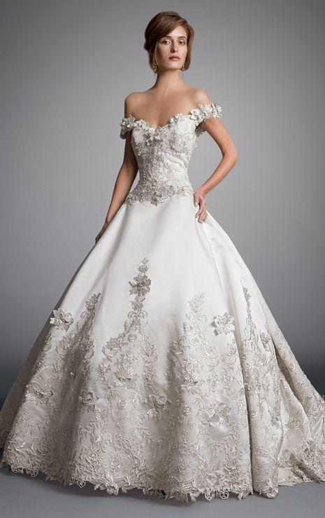 Eve Of Milady Wedding Dress Inspiration