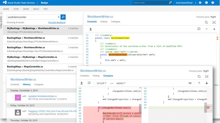 Code Search in Microsoft's Visual Stuido Team Services Now Generally Available: The Code Search feature for Visual Studio Team Services…