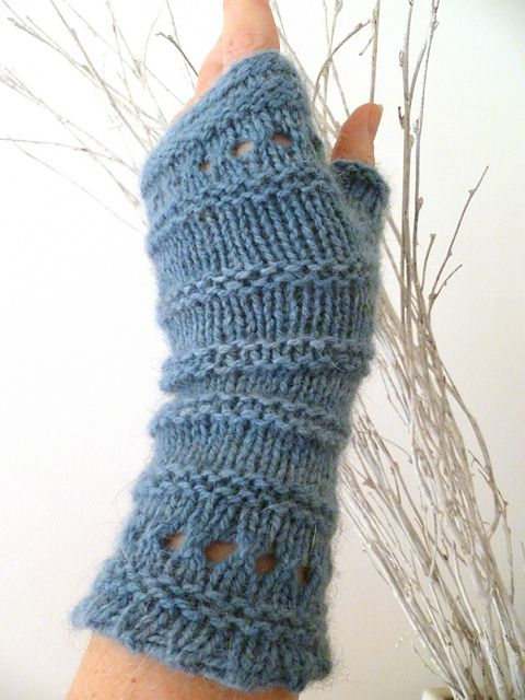 55 best images about Knitted Fingerless Gloves and Mittens ...