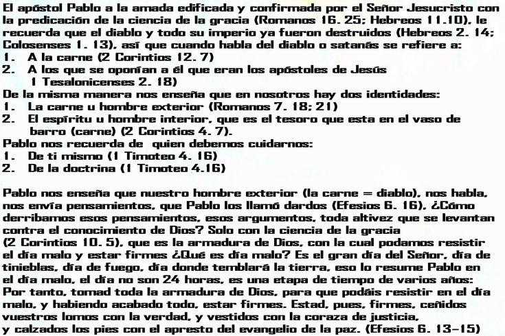 EFESIOS  6. 13-15