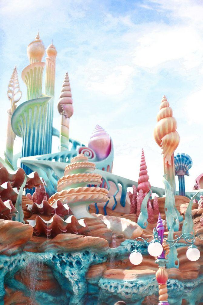 Tokyo Disneyland - Mermaid Lagoon 21