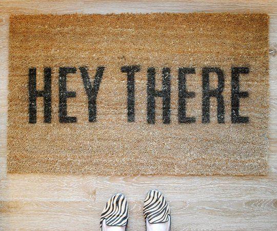 Best 25 Diy Door Mats Ideas On Pinterest