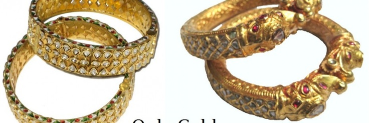 Jadau Jewelry is always made in 23 karat Gold Reason behind