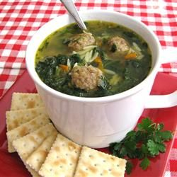 Italian Wedding Soup, photo by SugarPlum