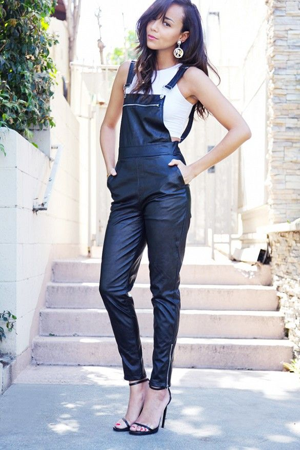 Warm Summer Nights Call for Casual Overalls // #AskAStylist #StreetStyle #casual