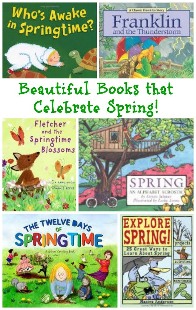 Ring in Spring with beautiful books that share about weather, nature, baby animals & ways to explore the season! Preschool, Kindergarten, Elementary literacy & reading