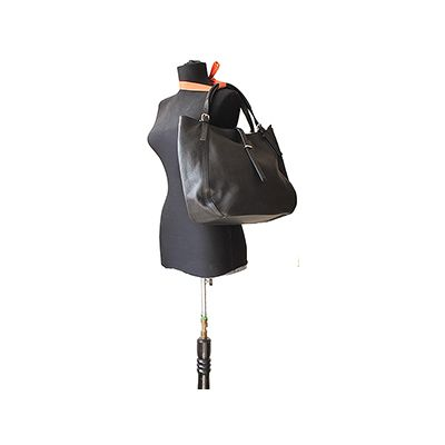 Sabrina Italian Black Leather Hobo Bag - £64.99